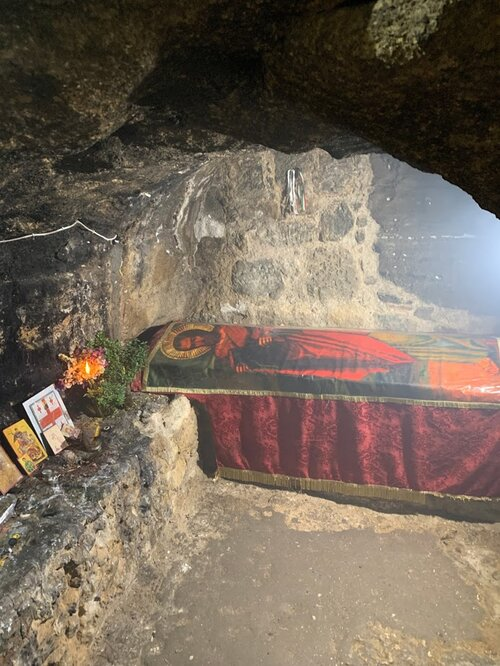 Visiting The Tomb of St. Barnabas in the occupied part of Cyprus