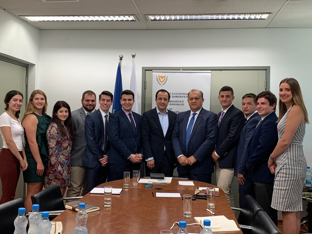 Meeting the Foreign Minister of the Republic of Cyprus Nikos Christodoulides