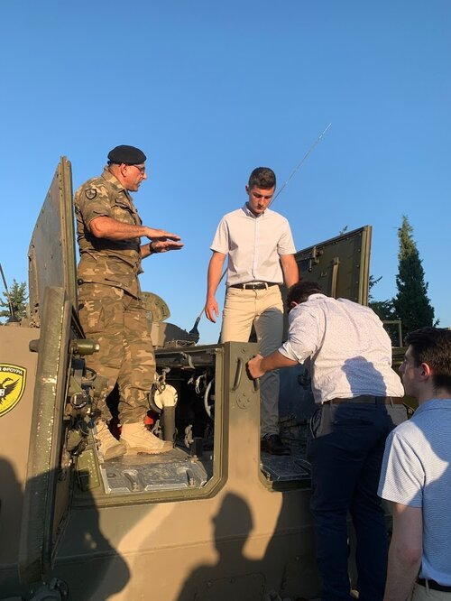 Visiting the 20th Armored Brigade