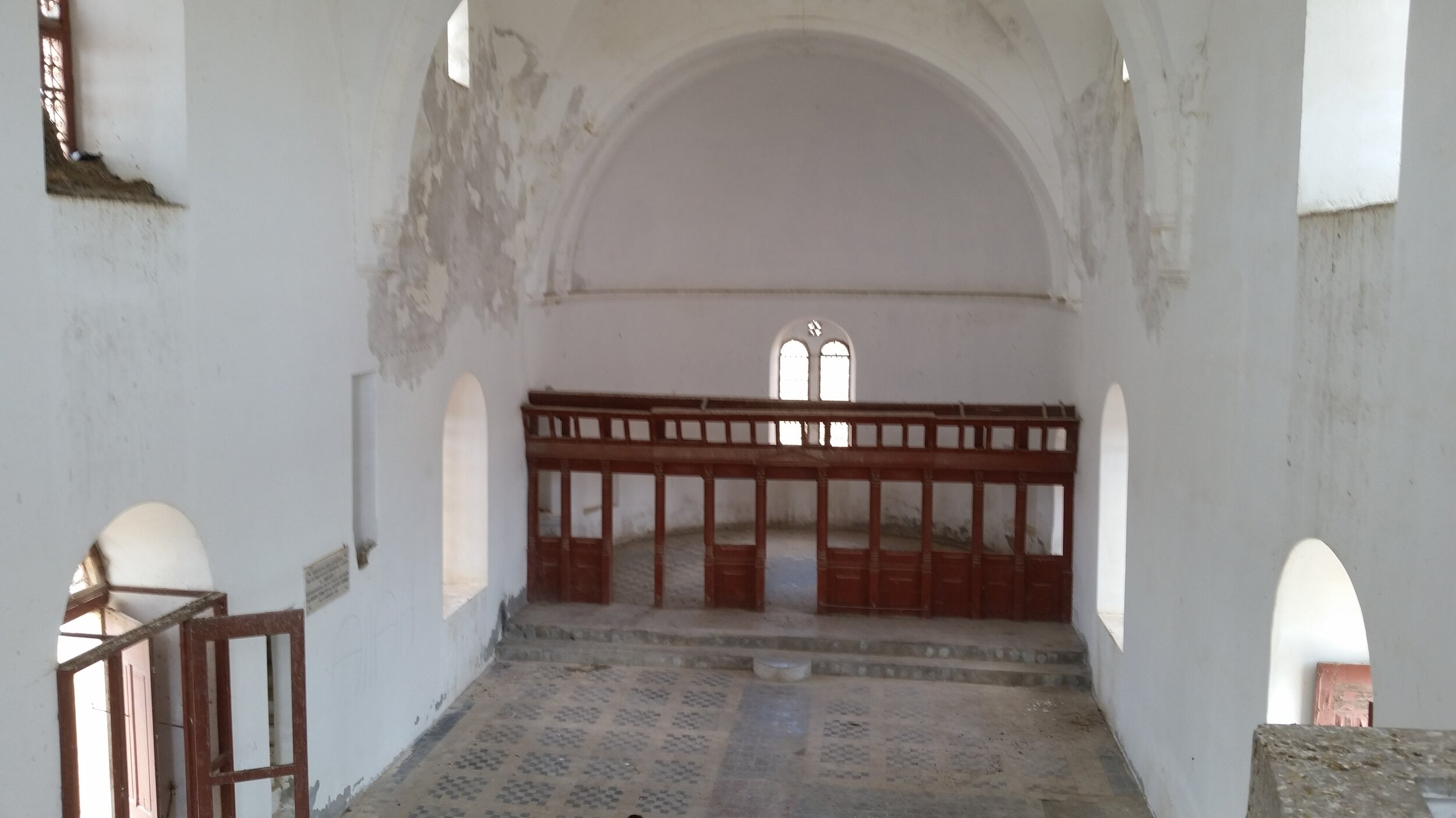 Desecrated Church in the occupied area of Cyprus