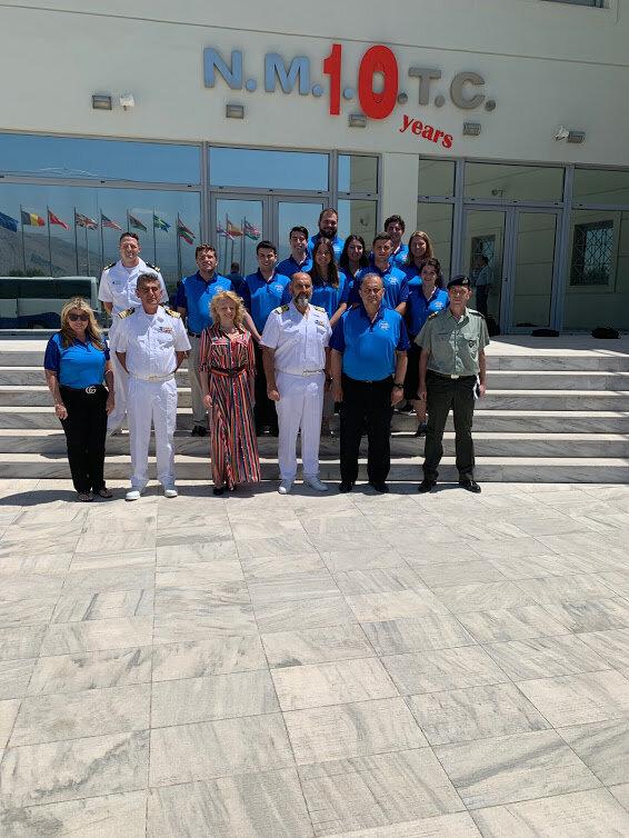 At NATO Maritime Interdiction Operational Training Center (NMIOTC)