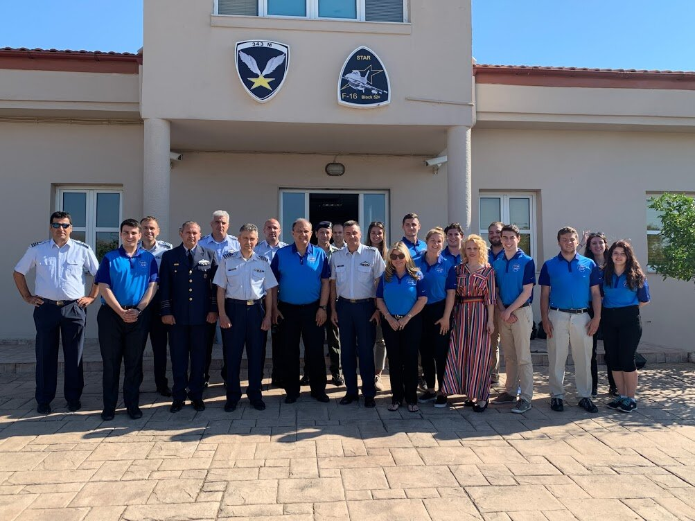 At the Hellenic Air Force 115 Combat Wing