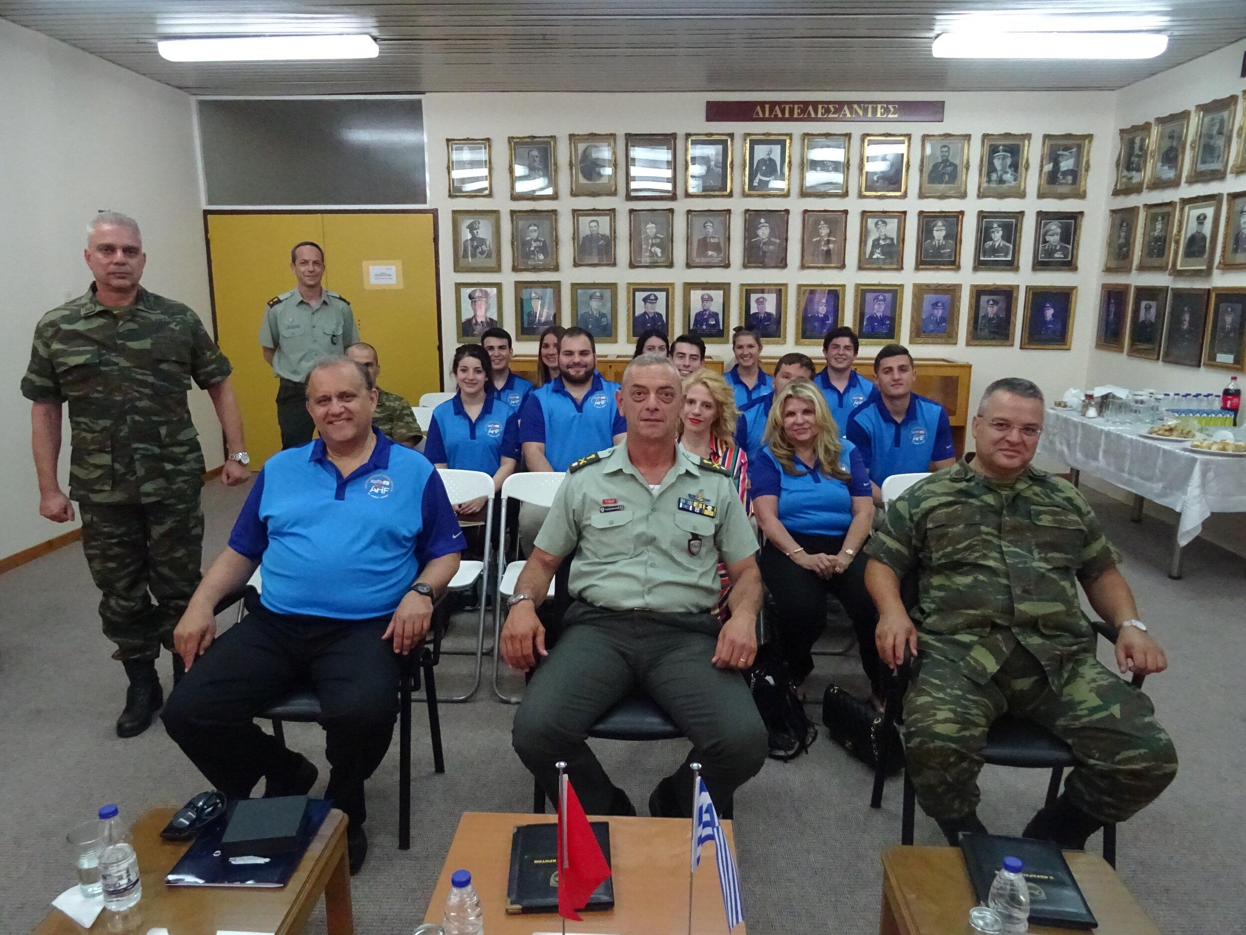 Briefing at 5th Mech. Brigade HQ