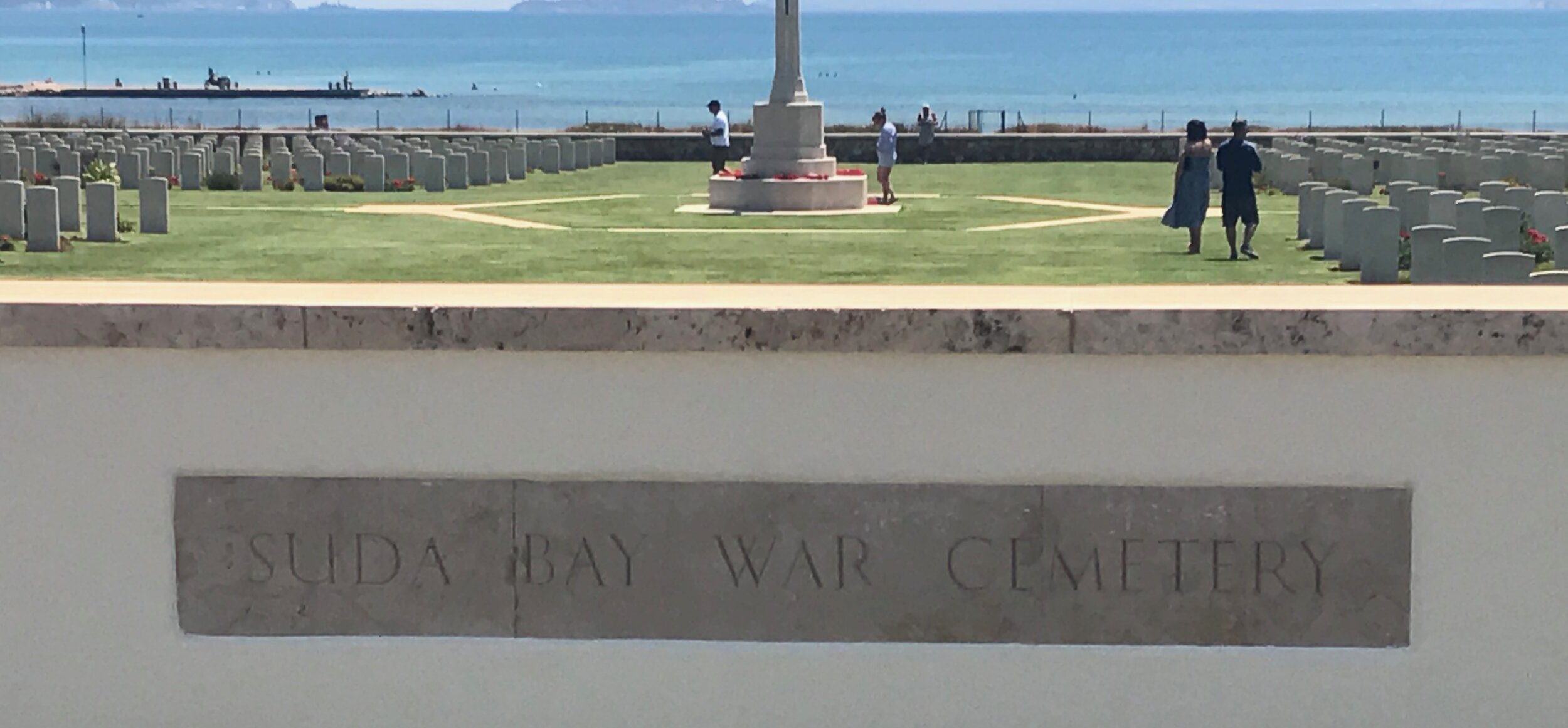 Casualties from WWI and WWII Buried At Souda Bay War Cemetary