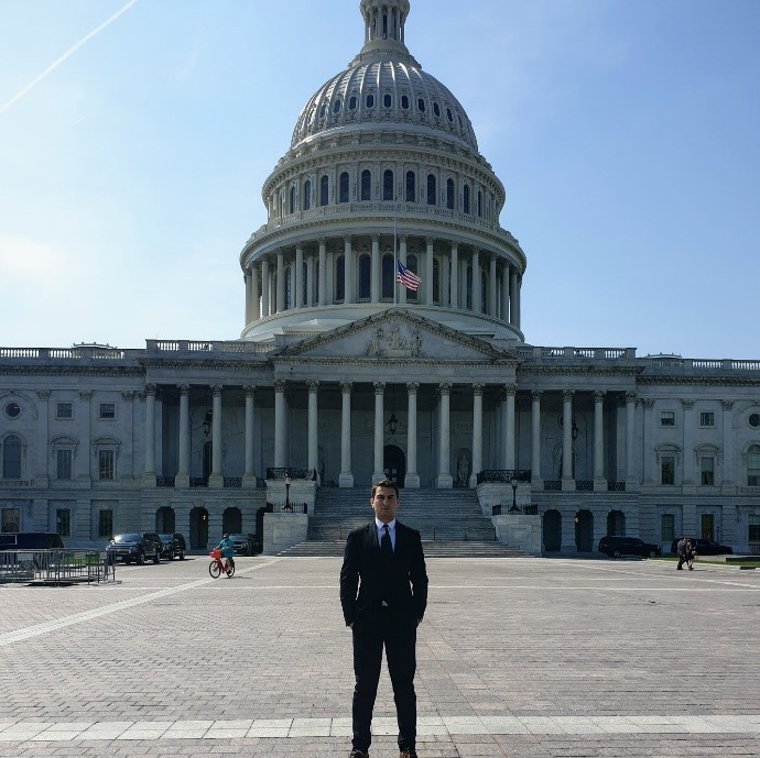 Yiannis Xenophontos Attending Meetings on Capitol Hill