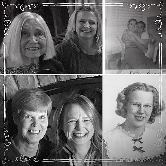 Just a few of the Mother's in my life who have shaped who I am! #happymothersday #greatful #strongwomen #beautifulhearts