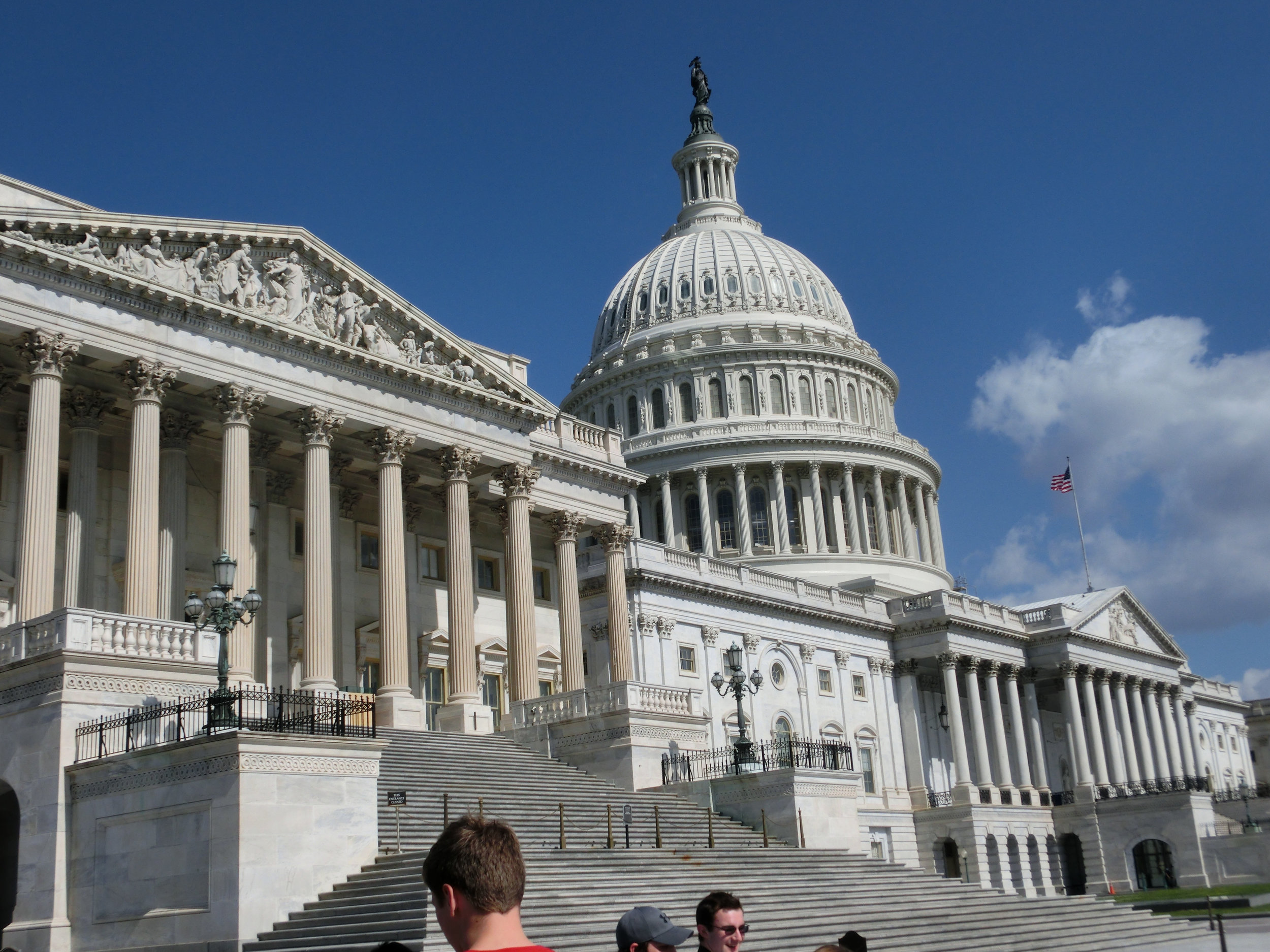 Sad Fact of Life #1,800: Unlike  Vice , the Capitol Building looks really pretty if you don't think about it.