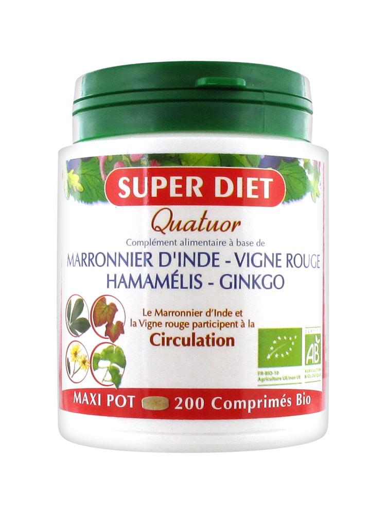 Comprimés Quatuor - Super Diet