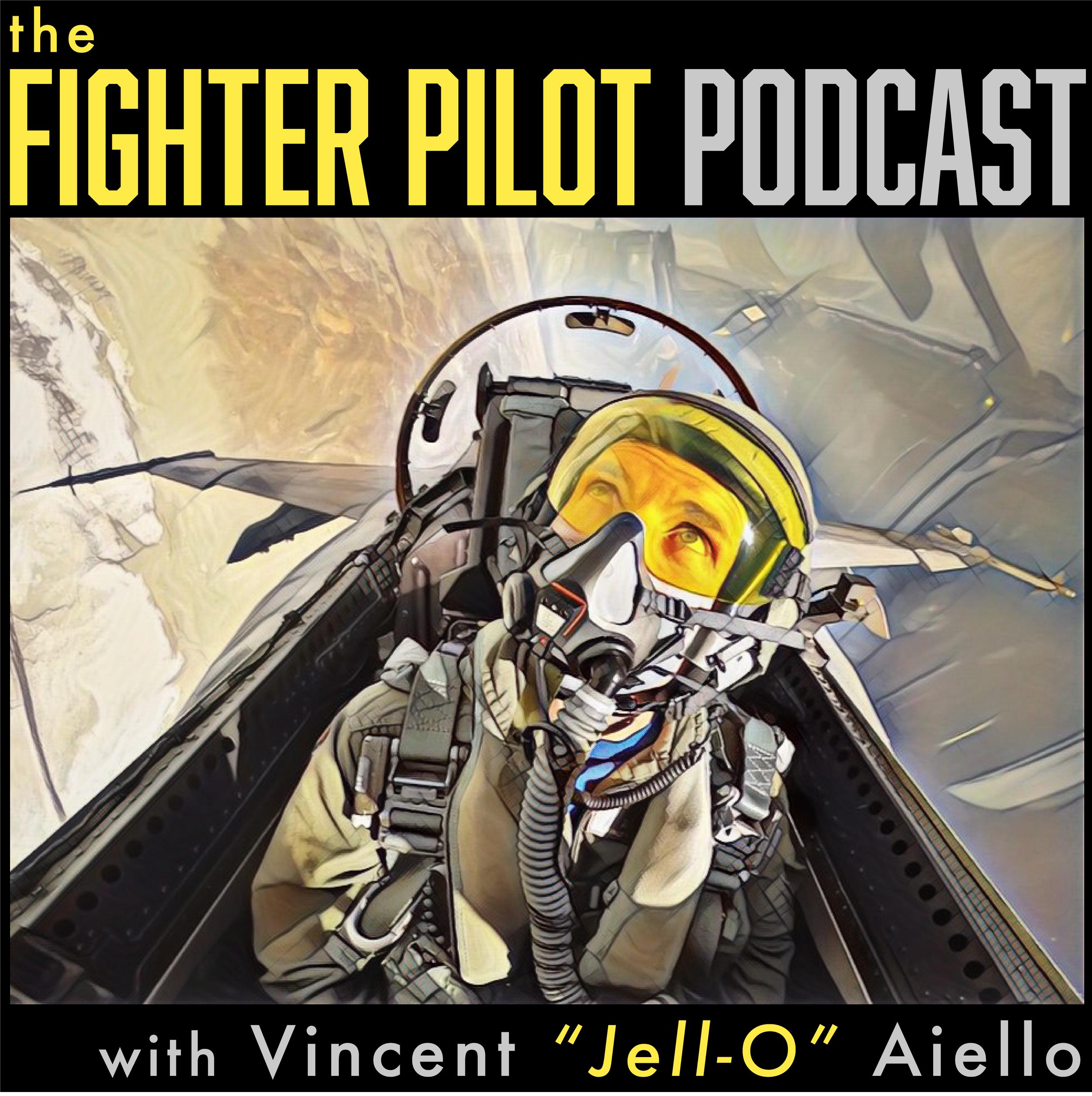 Brand management, including logo design for  The Fighter Pilot Podcast
