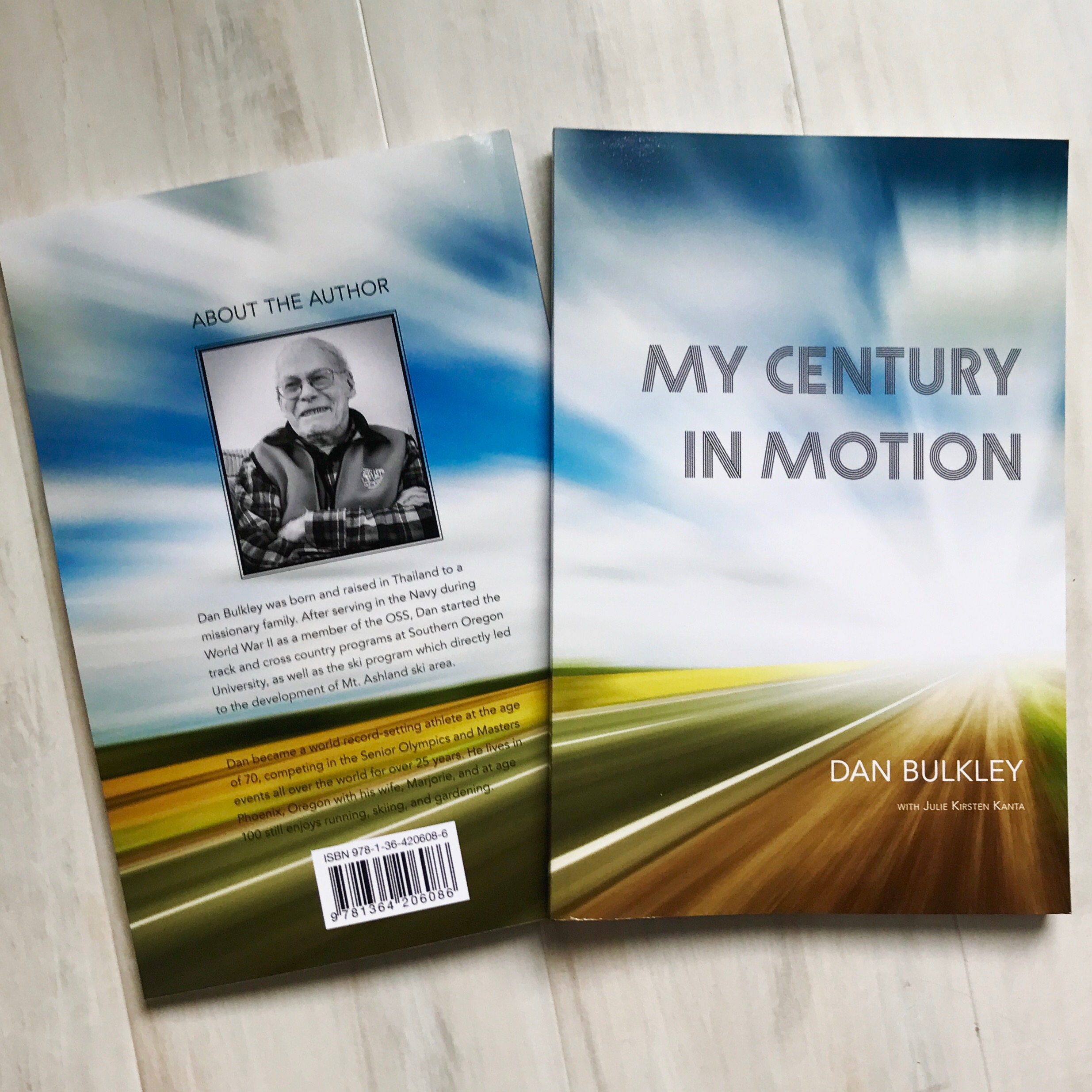 Memoir for Dan Bulkley, including ghostwriting, photo correction, layout & print design, publication