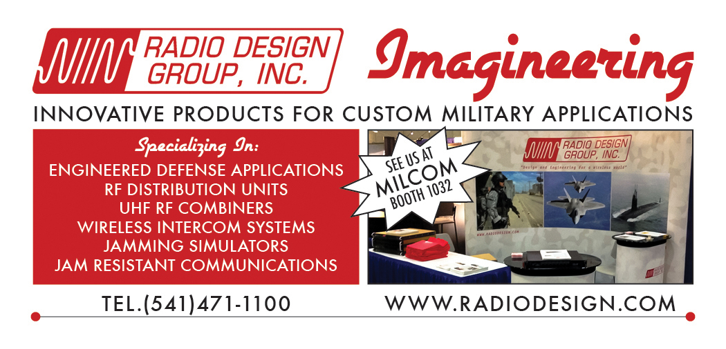 Advertisement for MILCOM
