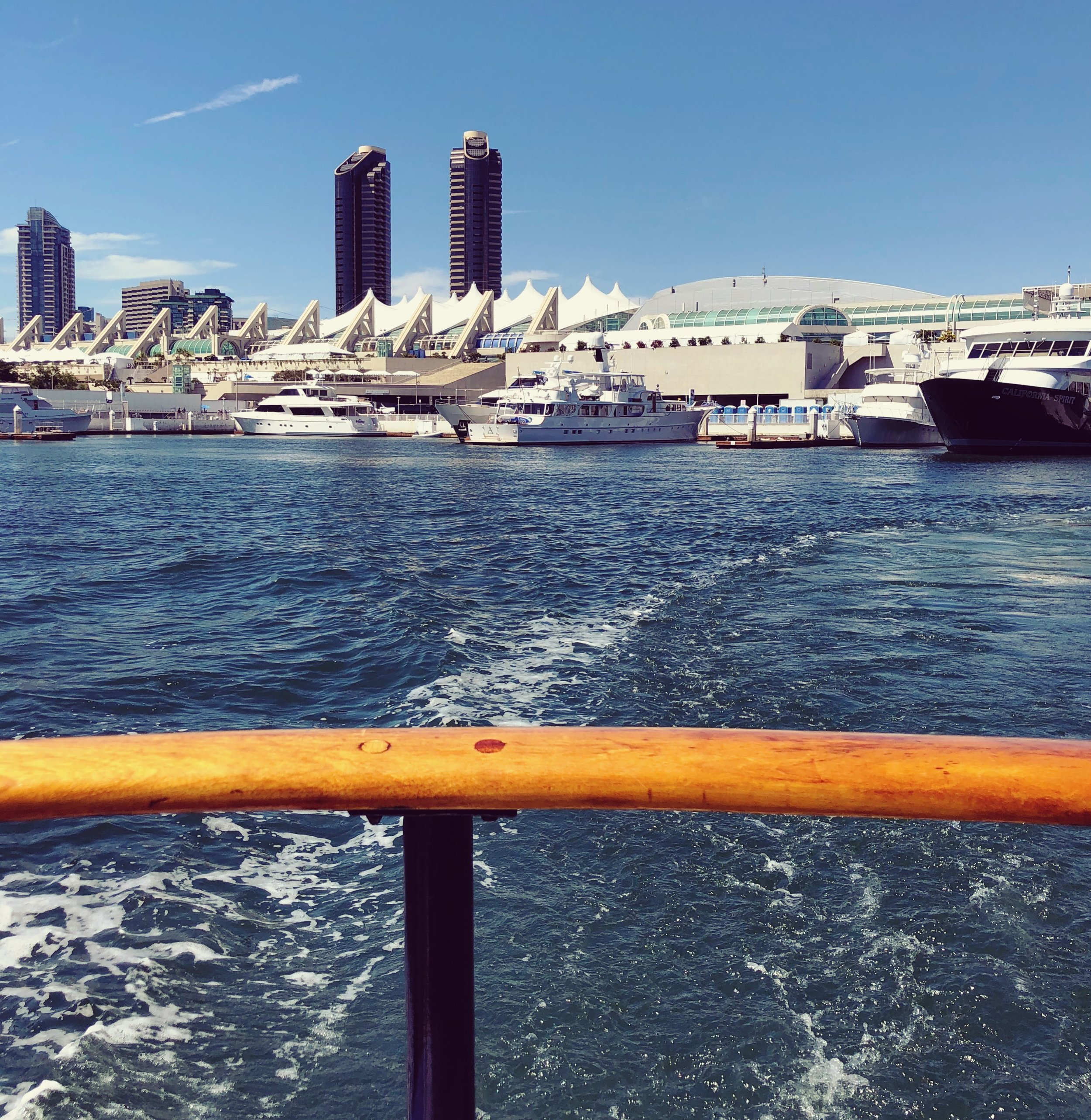 Taking the ferry back to Coronado… See ya next year, SDCC!
