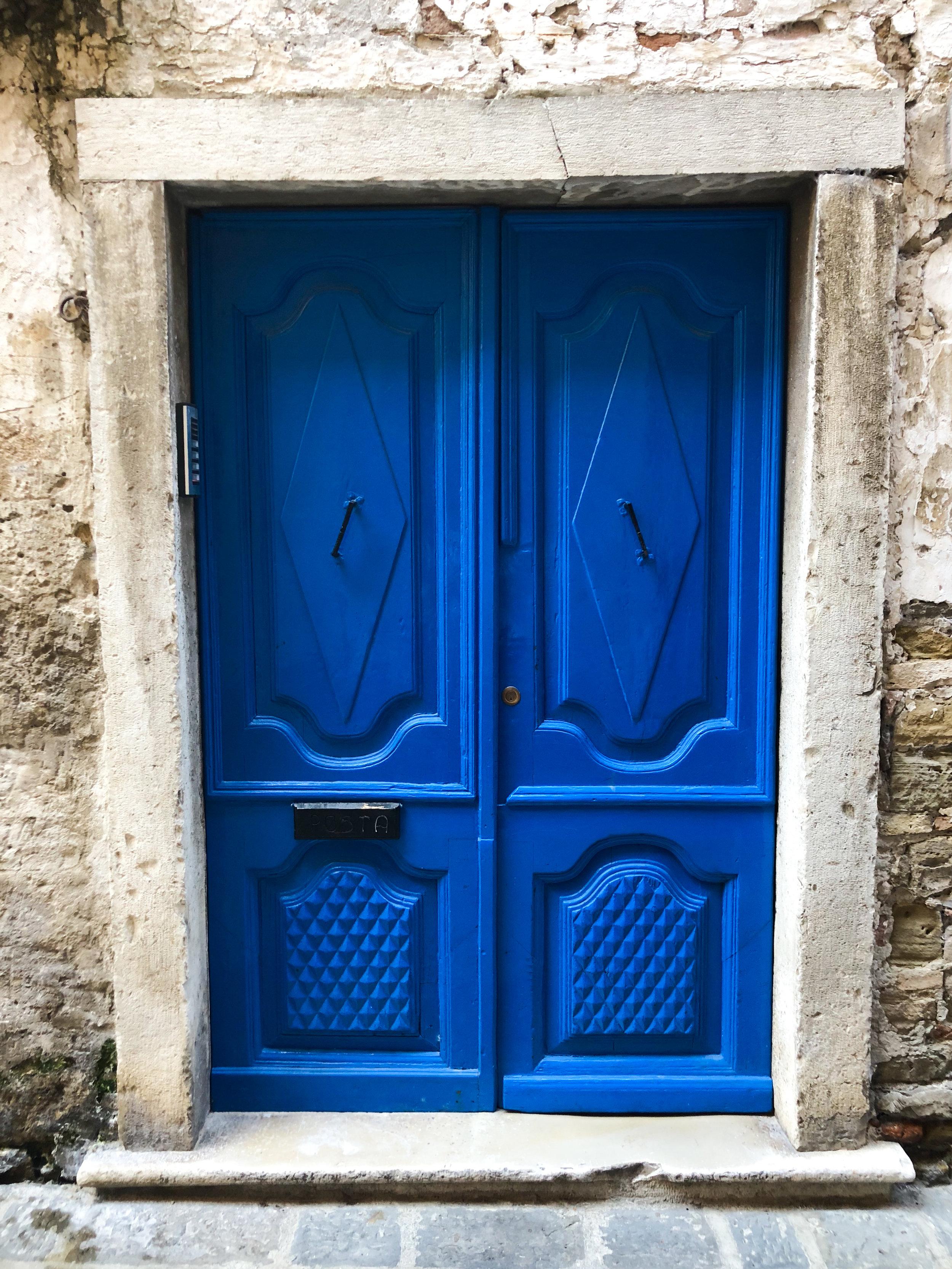 Piran front door