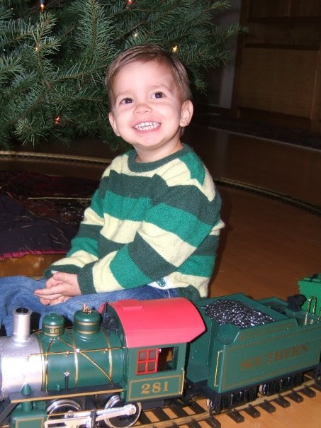 My little guy at 2 years old, 2005.