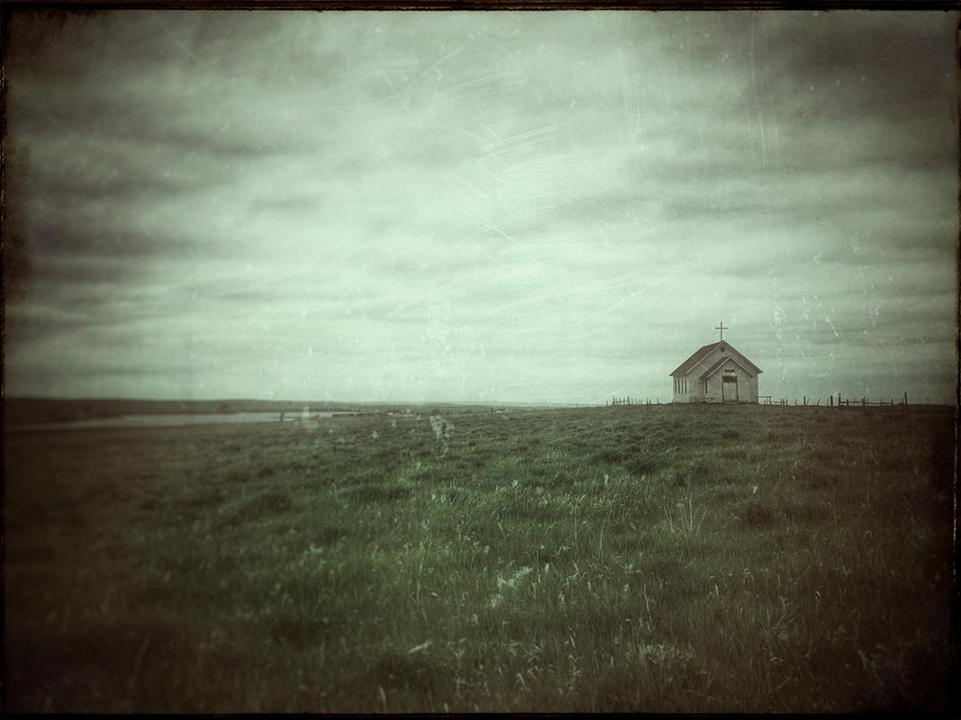 """SD Prairie Church - 10"""" x 7 1/2"""""""
