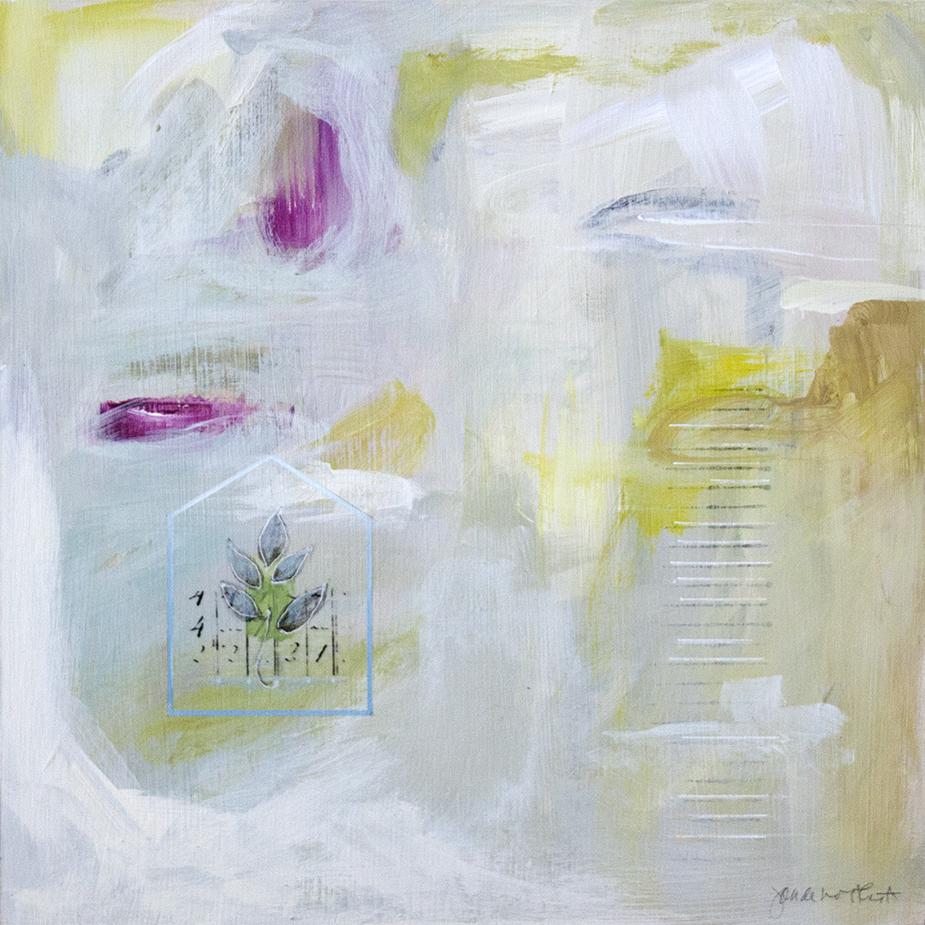 """A Gypsy Poem - 12"""" x 12"""" - acrylic on panel"""