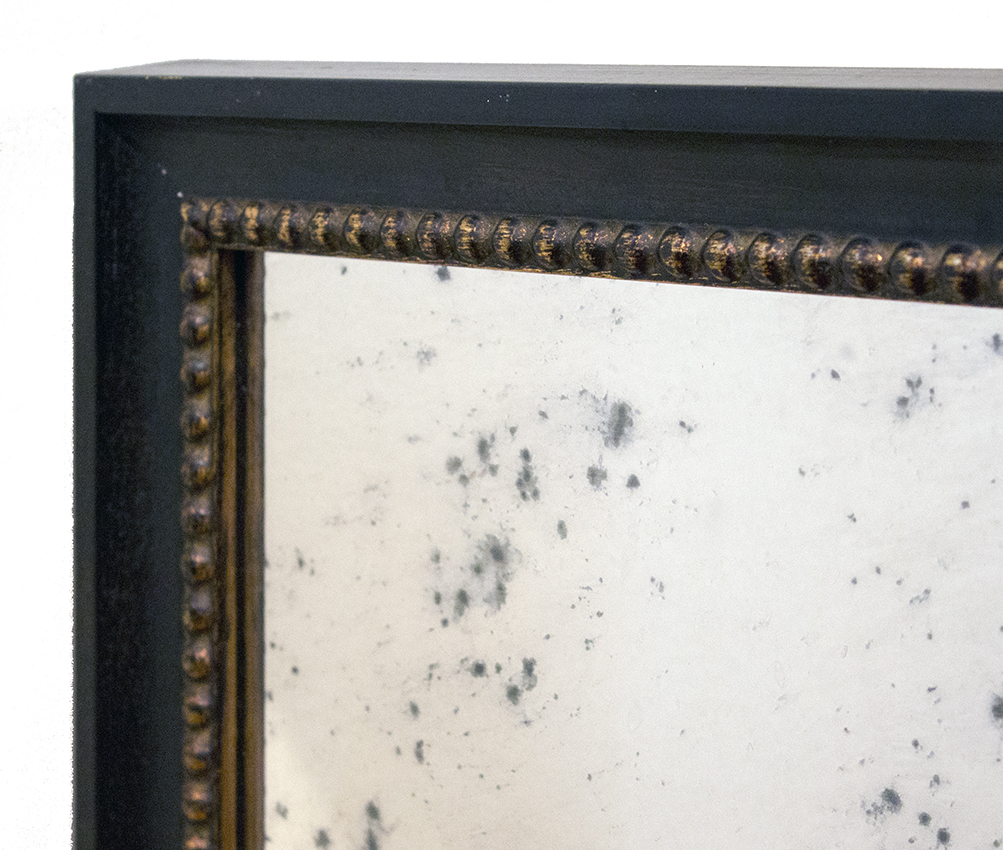 Mirrors - Whether for a small powder room or over a large mantle, a custom mirror is the perfect way to create the illusion of more light and space in an environment. We offer a variety of mirrors, including beveled and antiqued styles.