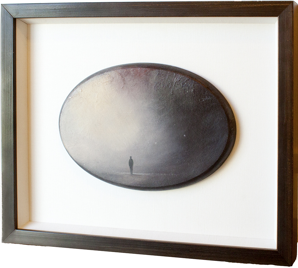 Shadowbox - A shadowbox is a wonderful framing option for three-dimensional objects. Shadowbox framing consists of a deep frame lined on the sides and back with mat with an object or series of objects mounted to the back. Most shadowboxes have glass to protect the object(s) from environmental elements.