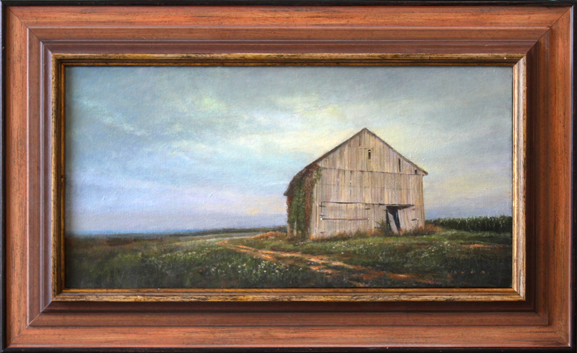 """Outpost - 24"""" x 12"""" - oil on canvas"""
