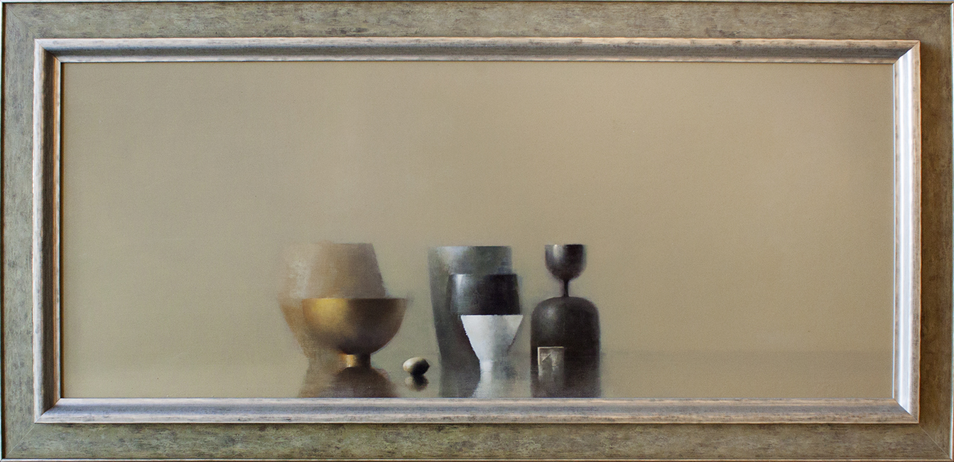 "Reflections 2 - 48"" x 22"" - oil on panel"