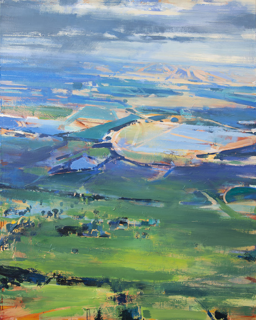 "Valley Light - 48""x 60"" - oil on canvas"