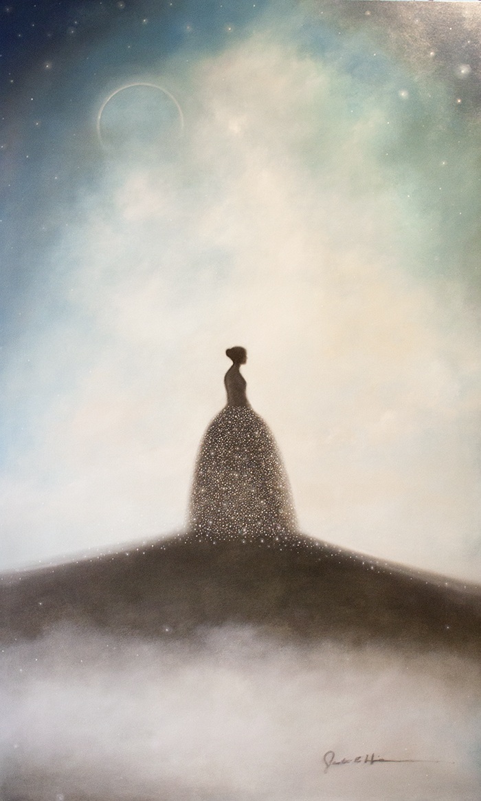 """Eclipse - 36"""" x 60"""" - oil on panel"""
