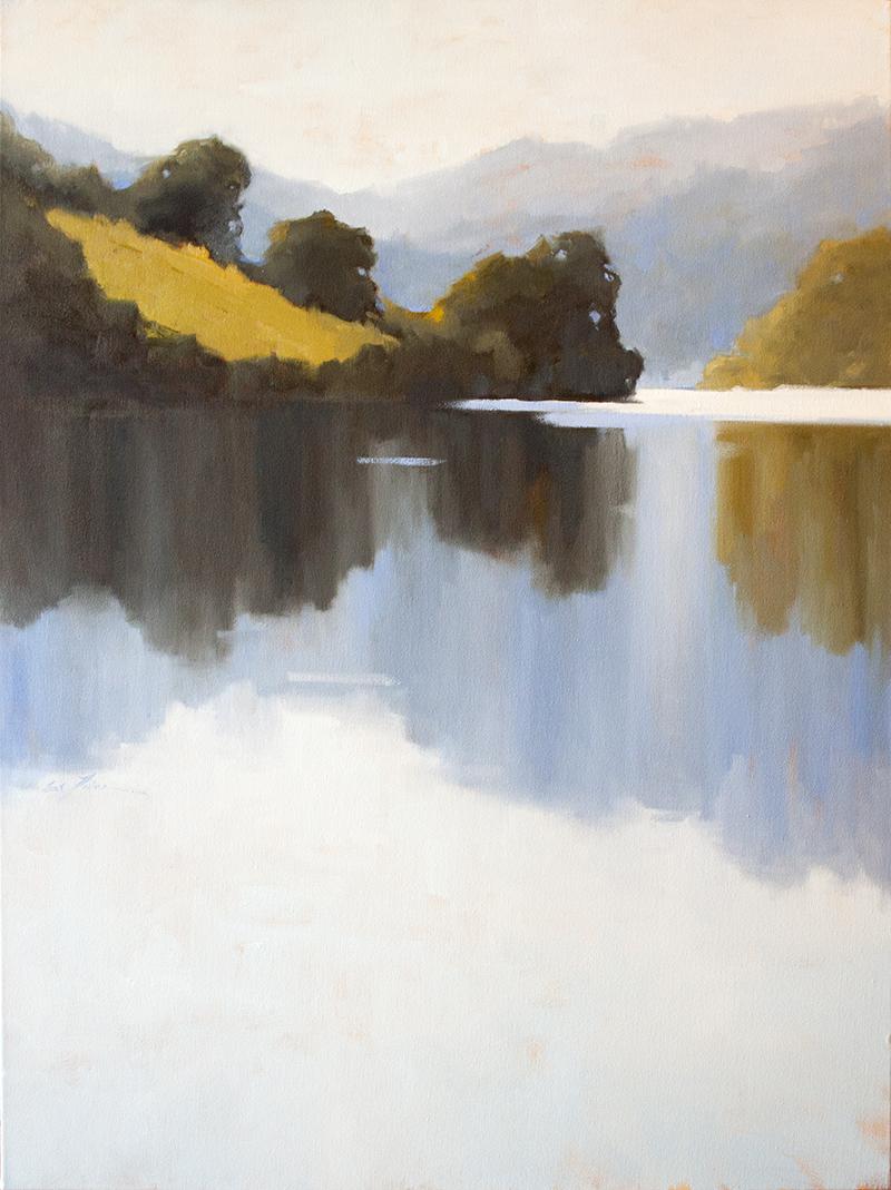 "Quiet Cove 2 - 36"" x 48"" - oil on canvas"