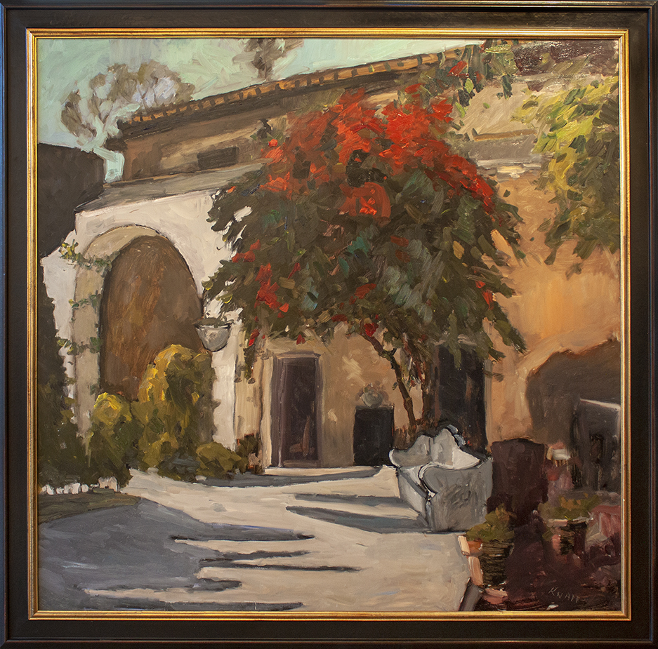 "Carmel, CA - 48"" x 48"" - oil on panel"