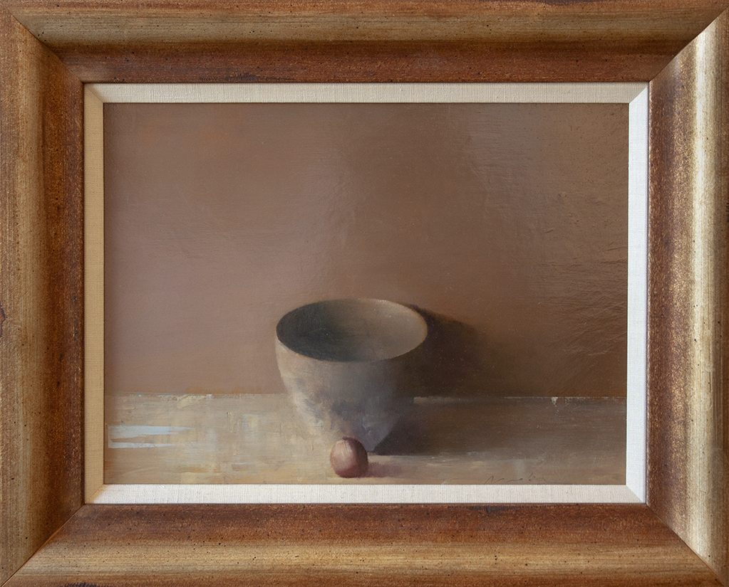 "Cup - 16 1/4"" x 12"" - oil on panel"