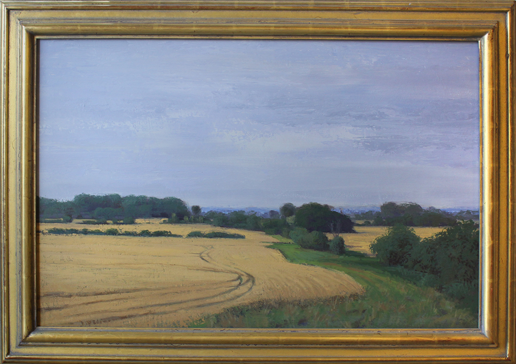 """Summer Countryside - 36"""" x 24"""""""