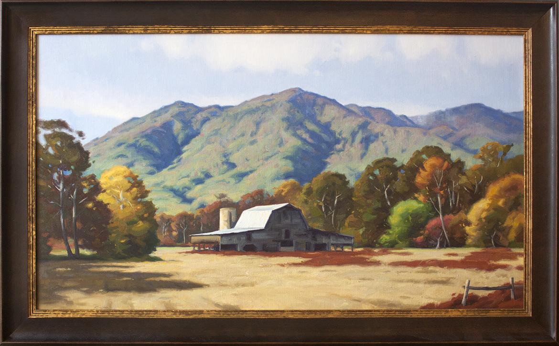 "Smoky Mountain Tapestry - 46"" x 25 1/2"""