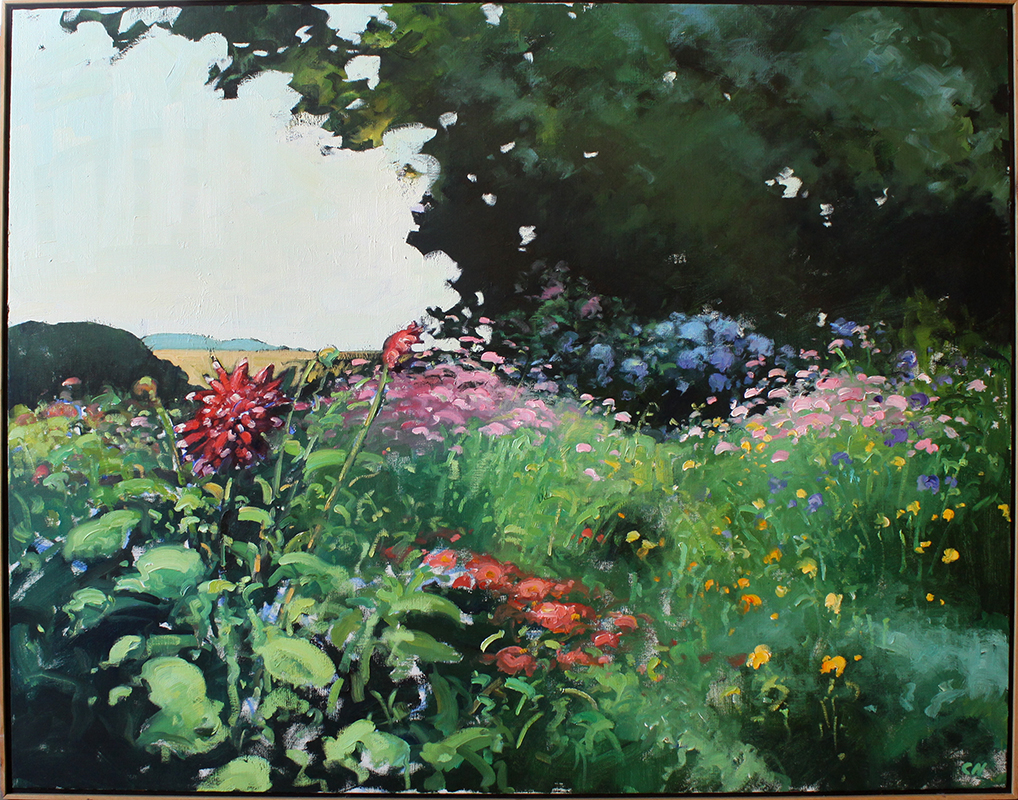 """Early August - 46"""" x 36"""""""