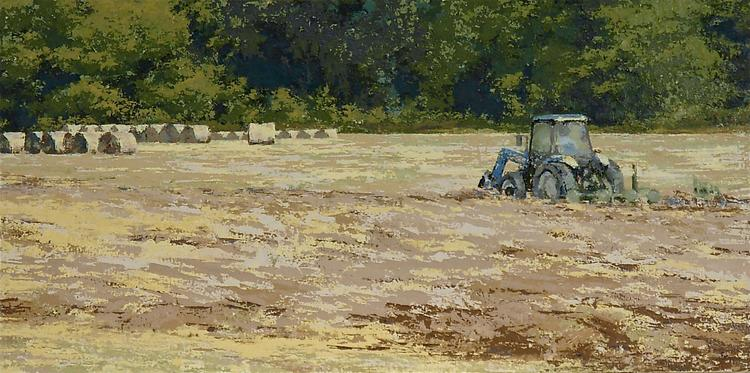 """Just Another Day - 36"""" x 10"""""""