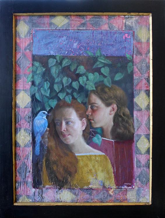 "Sunday - 24"" x 33 1/2"" - oil on canvas"