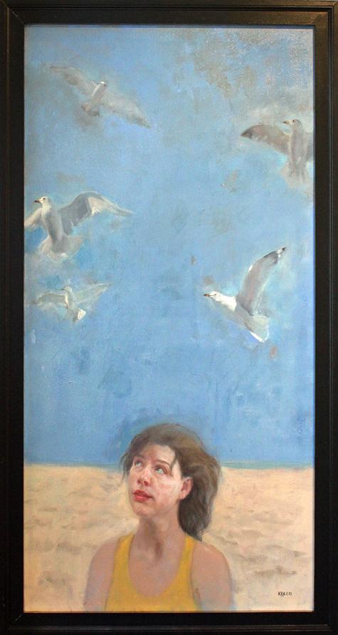 "The Sky Above - 24"" x 48"" - oil on canvas"