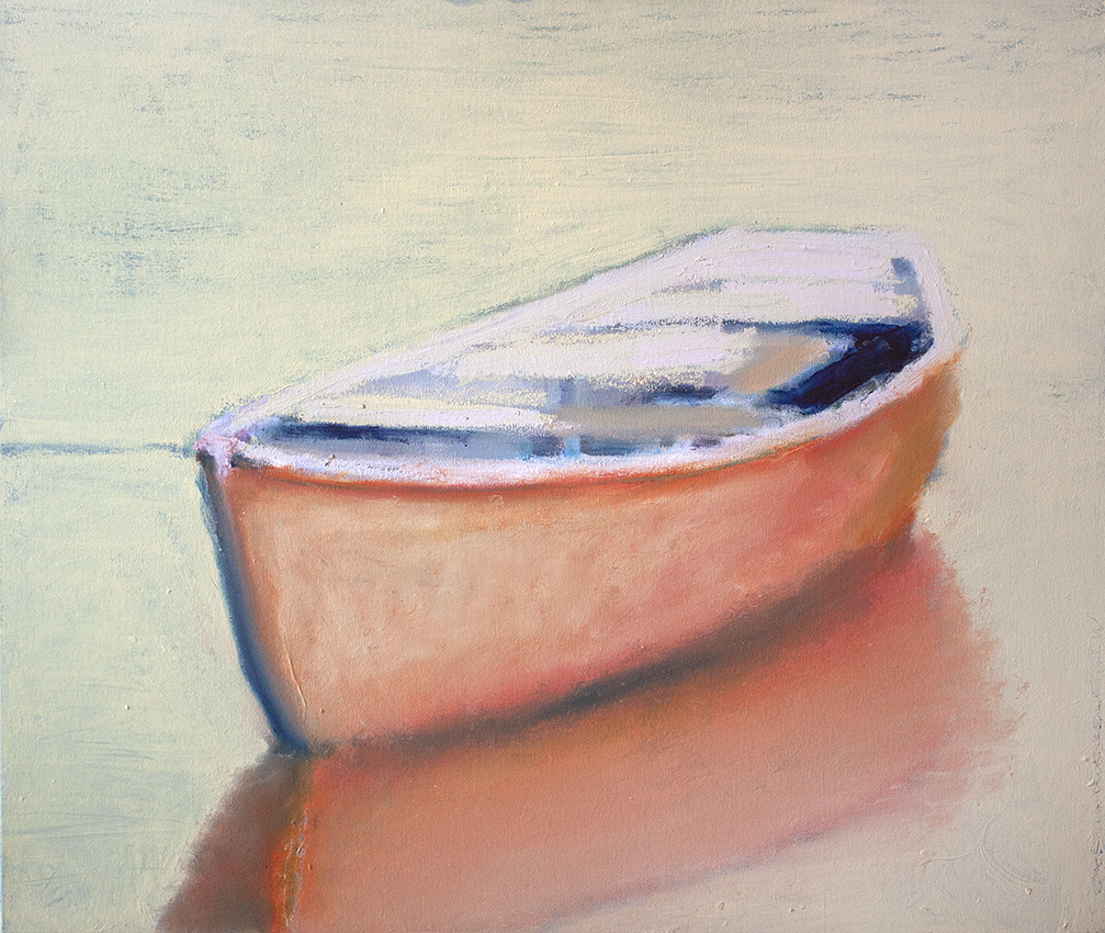 "Harbor Mist - 36"" x 30"" - oil on canvas"