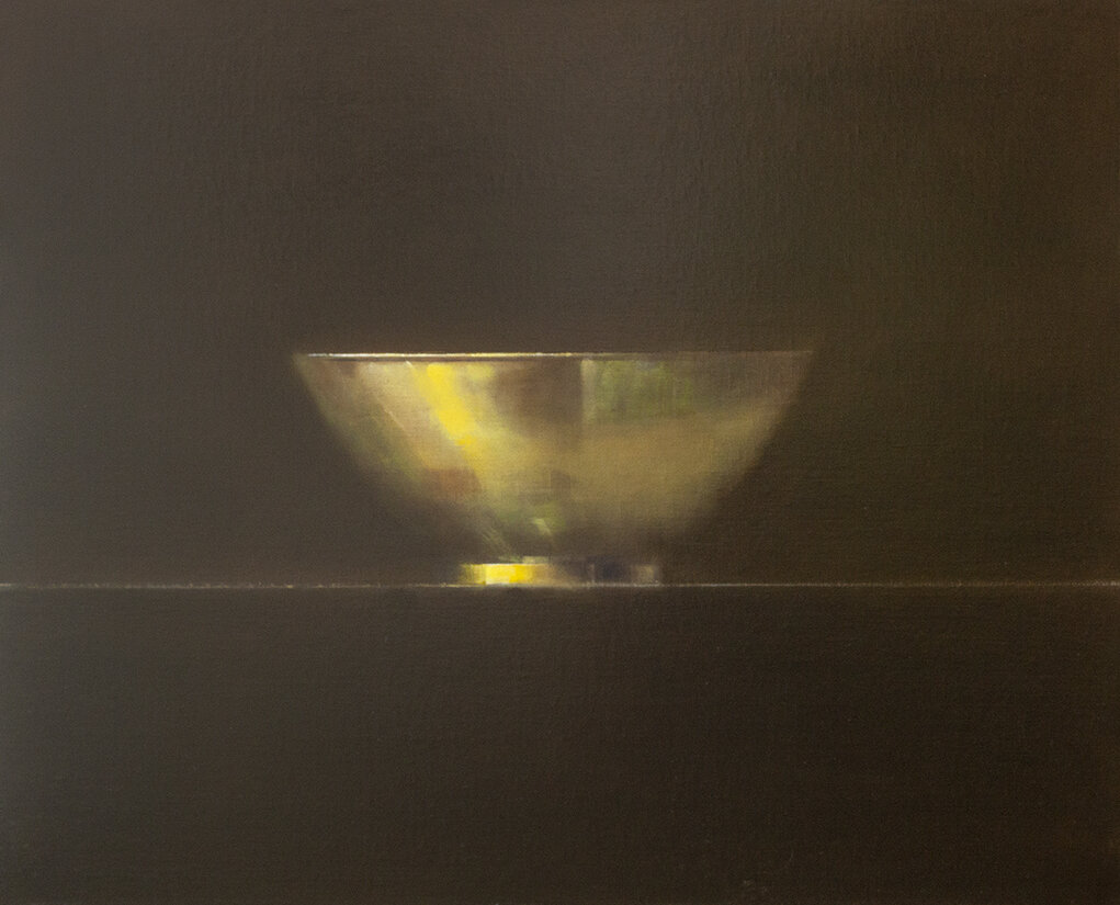 "Brass Bowl - 30"" x 24"" - oil on panel"