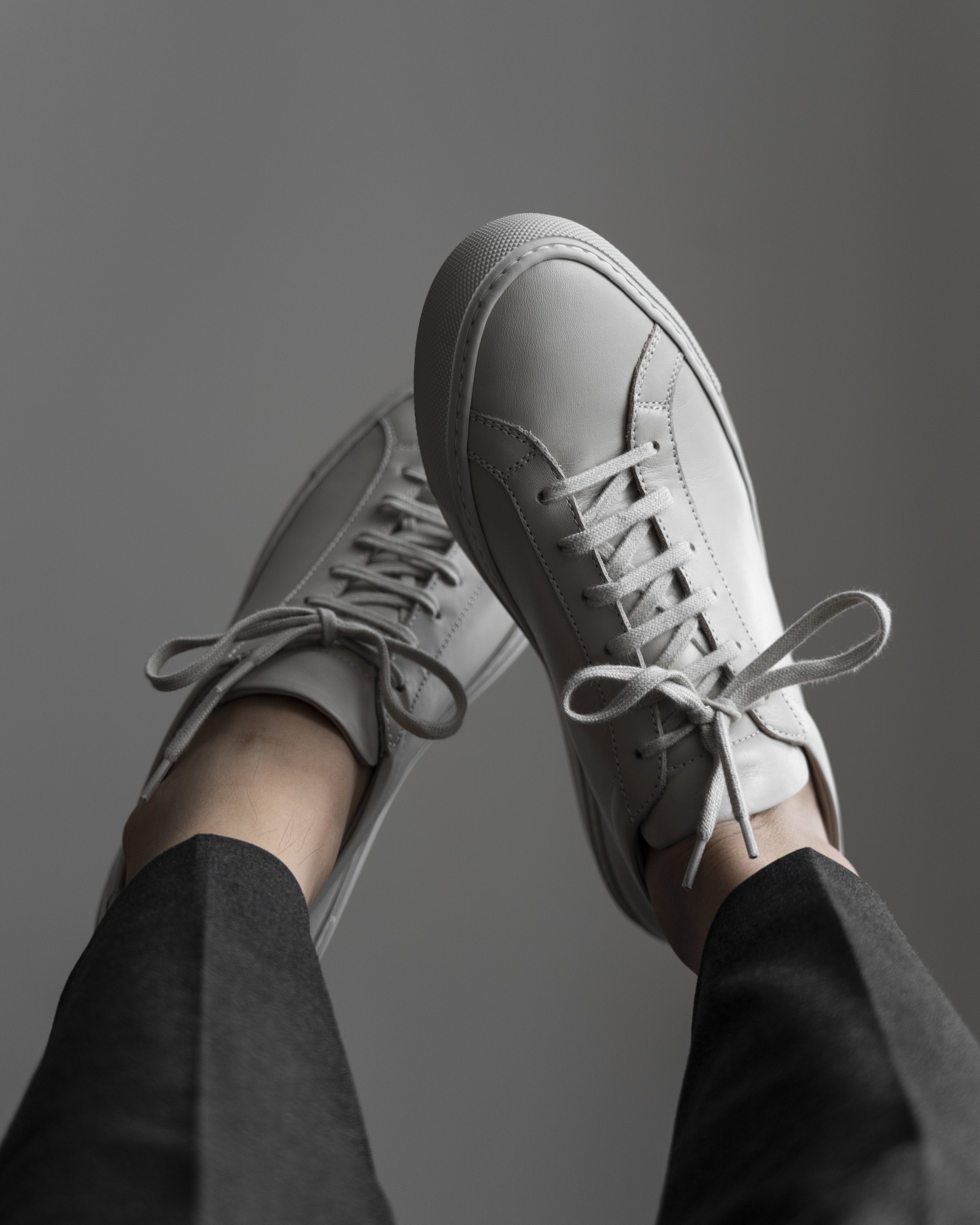 carta grey - with Common Projects