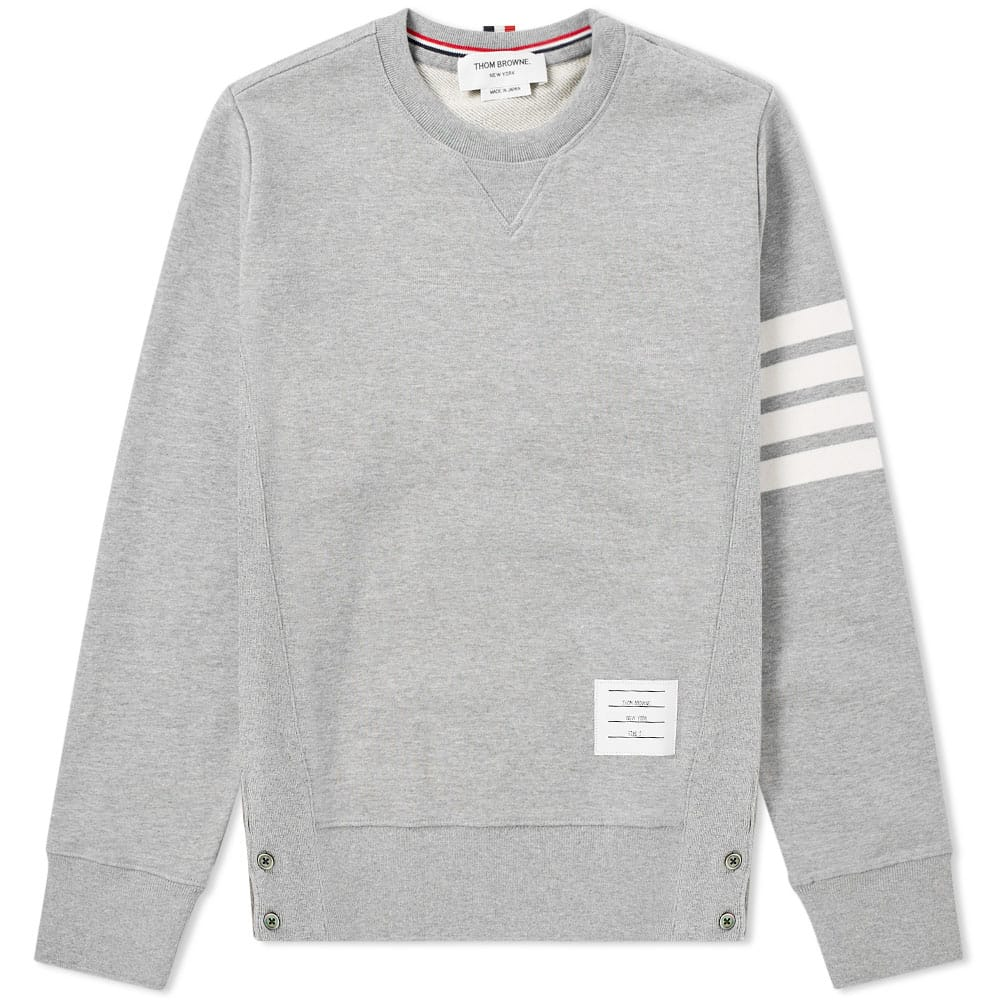 Thom Browne - Grey 4-Bar Pullover Sweatshirt.jpg