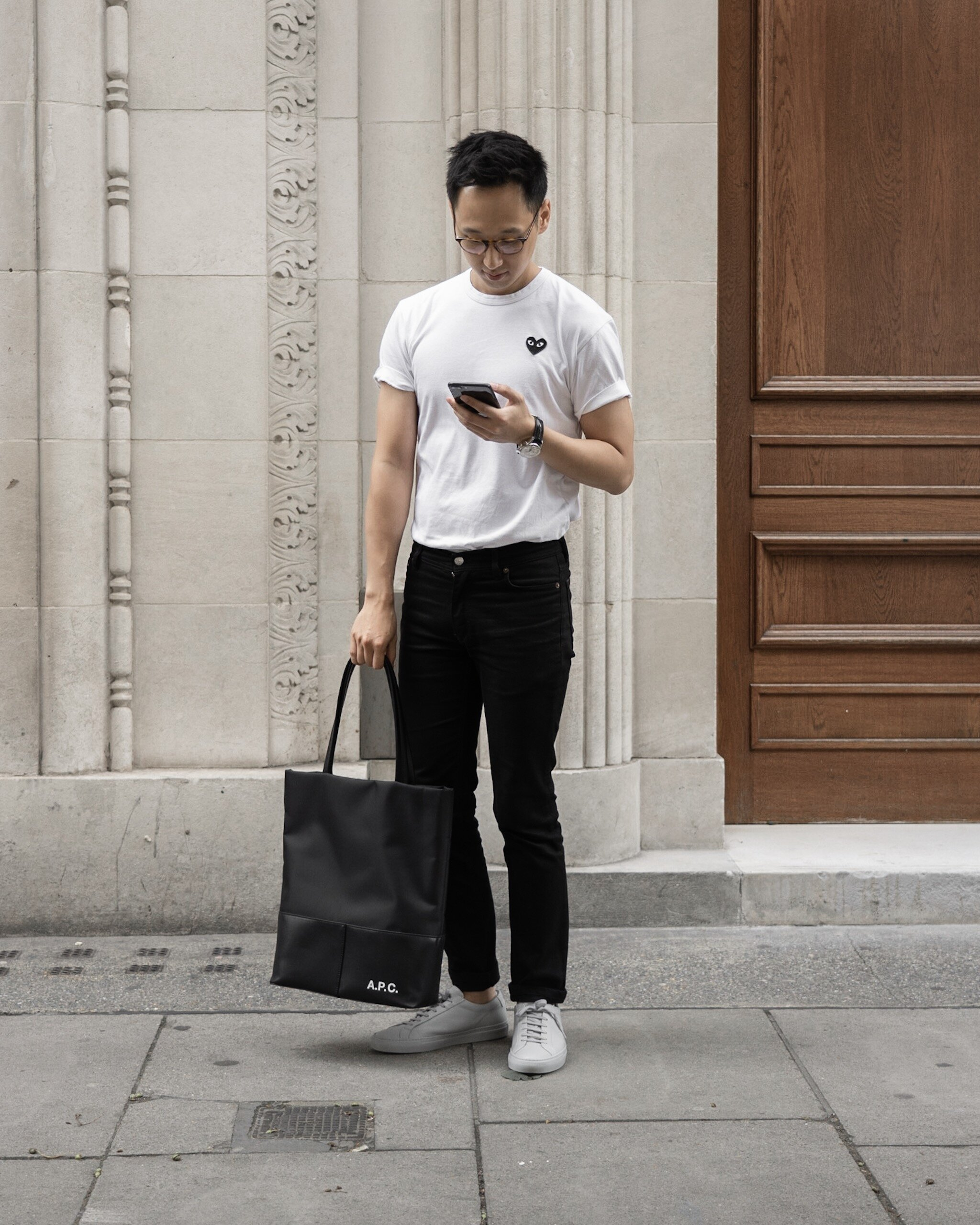 Weekday Uniform - with A.P.C.