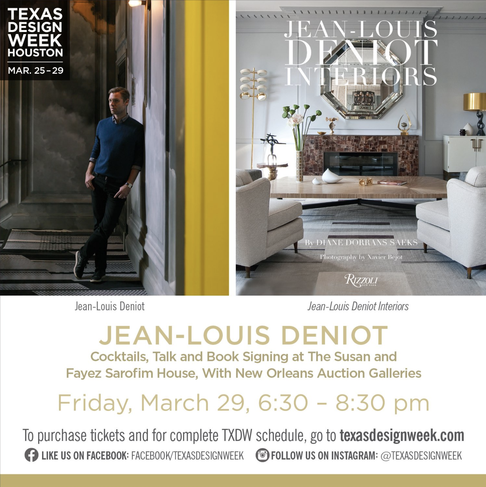 Texas Design Week Jean Louis Denoit