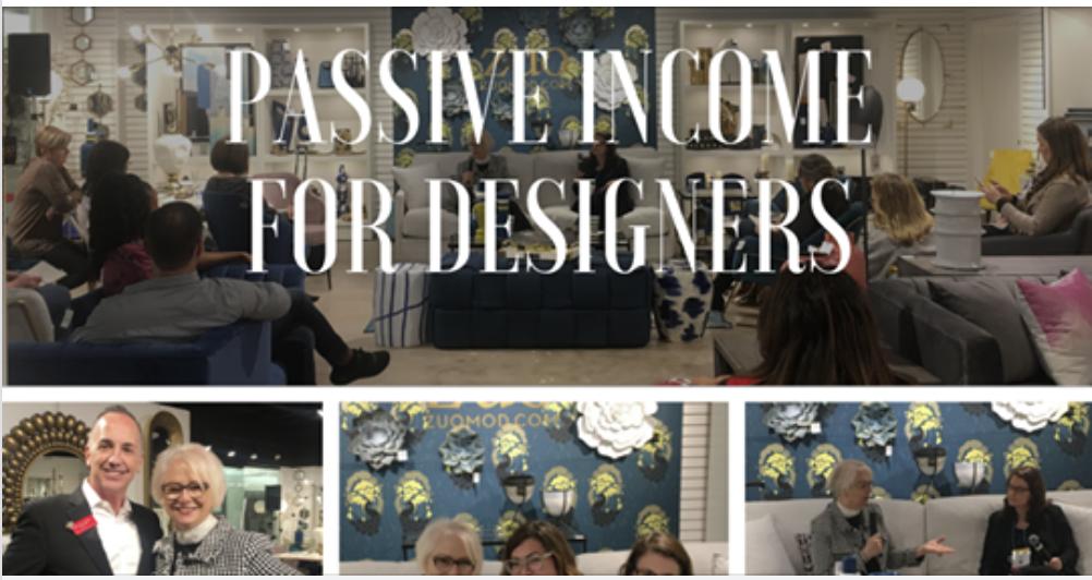 Passive Income For Interior Designers Leslie Carothers Dallas Market