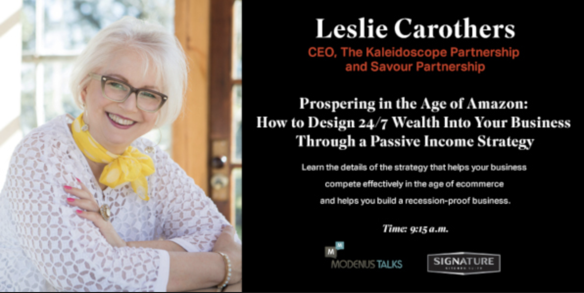 This was what Modenus/DesignHounds created to advertise my presentation in Napa Valley.