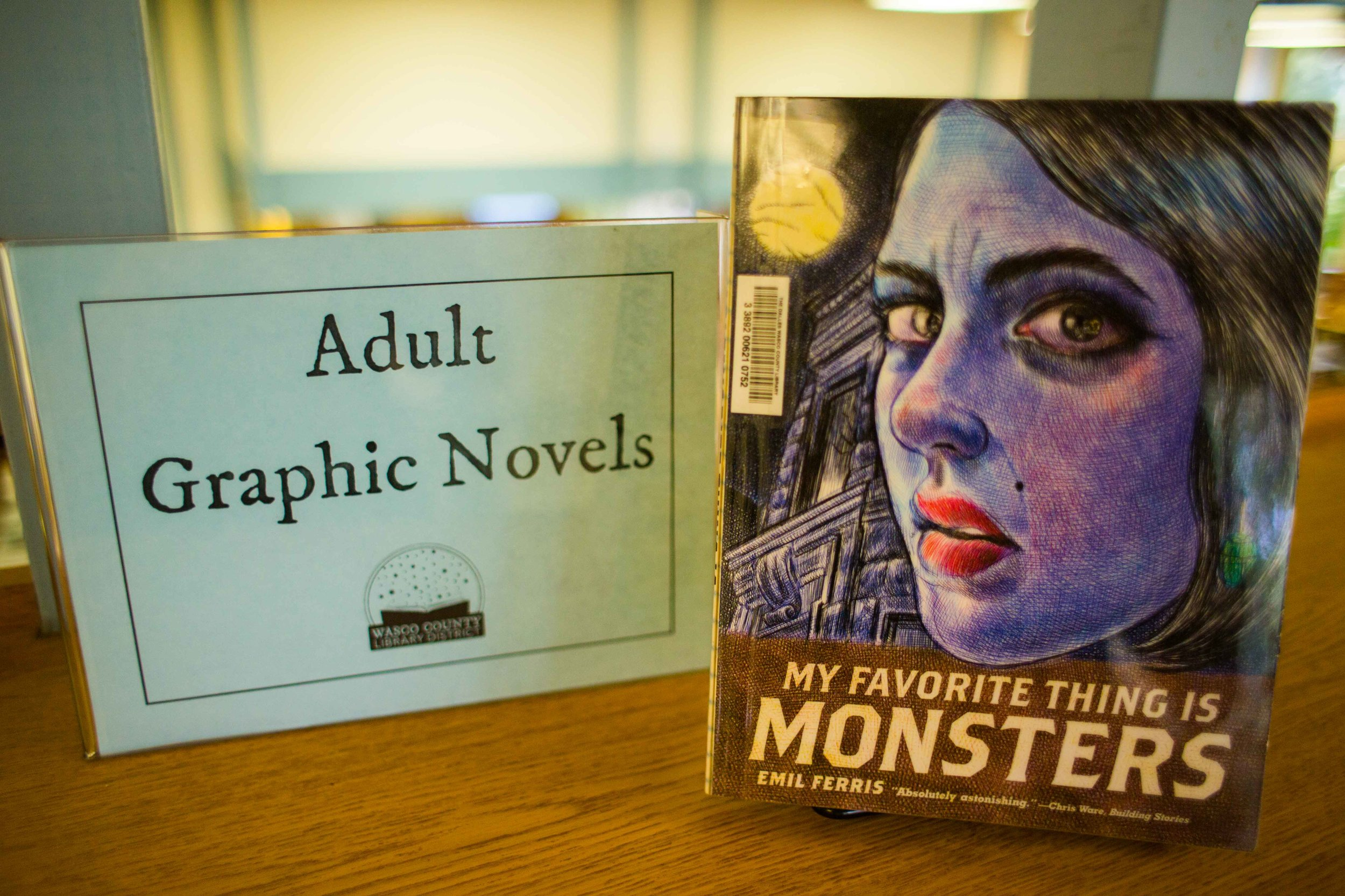 graphic-novels-the-dalles-columbia-river-gorge-comics-adult-community-audio-books-services-public-library-cd-tape-mp3