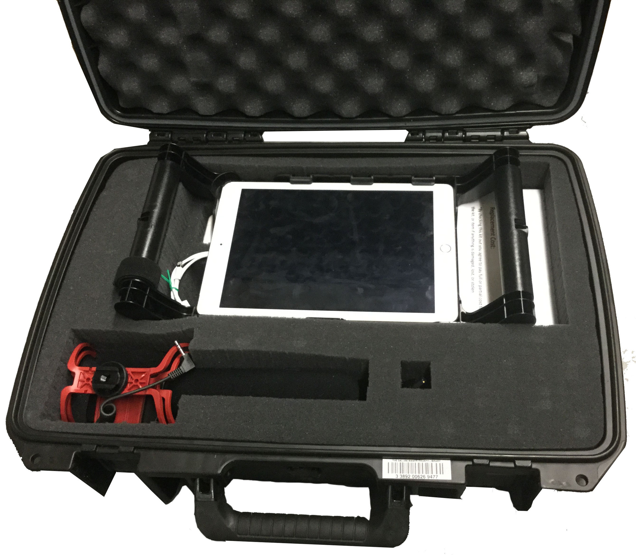 video kits - Shoot and edit your ownmovies with our iPad Pro and accessories.Checkout time: 3 weeks.