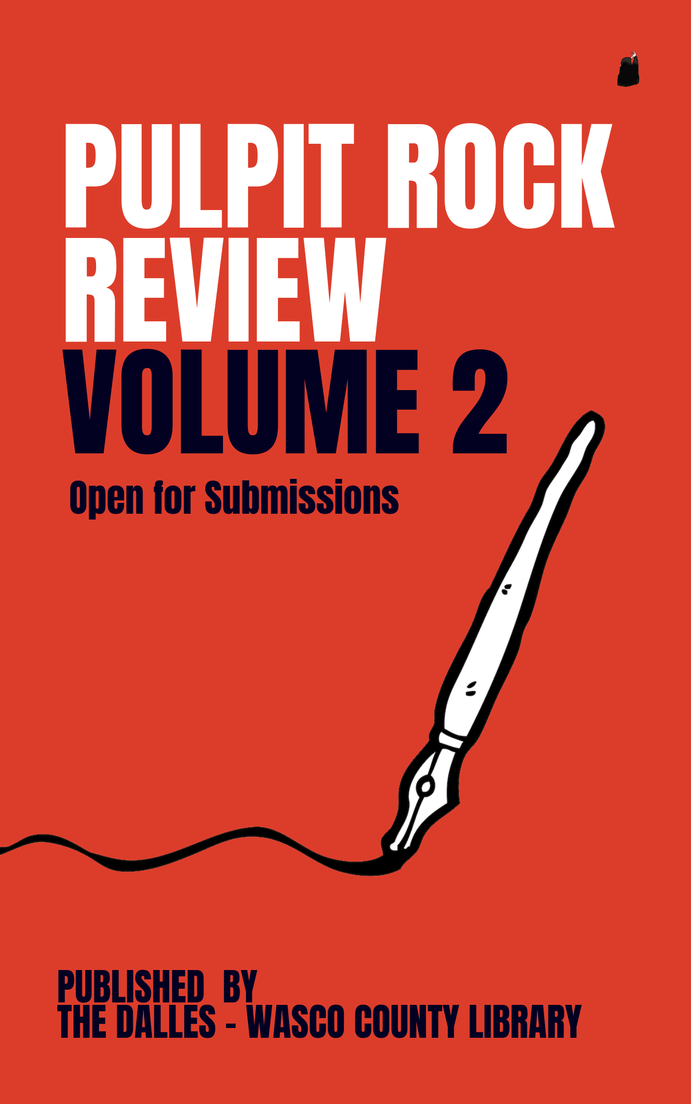 pulpit rock review volume 2 - open for SUBMISSIONS!rules AVAILABLE hereWavier Forms are AVAILABLE hereemail your submissions to:thepulpitrockreview@gmail.com
