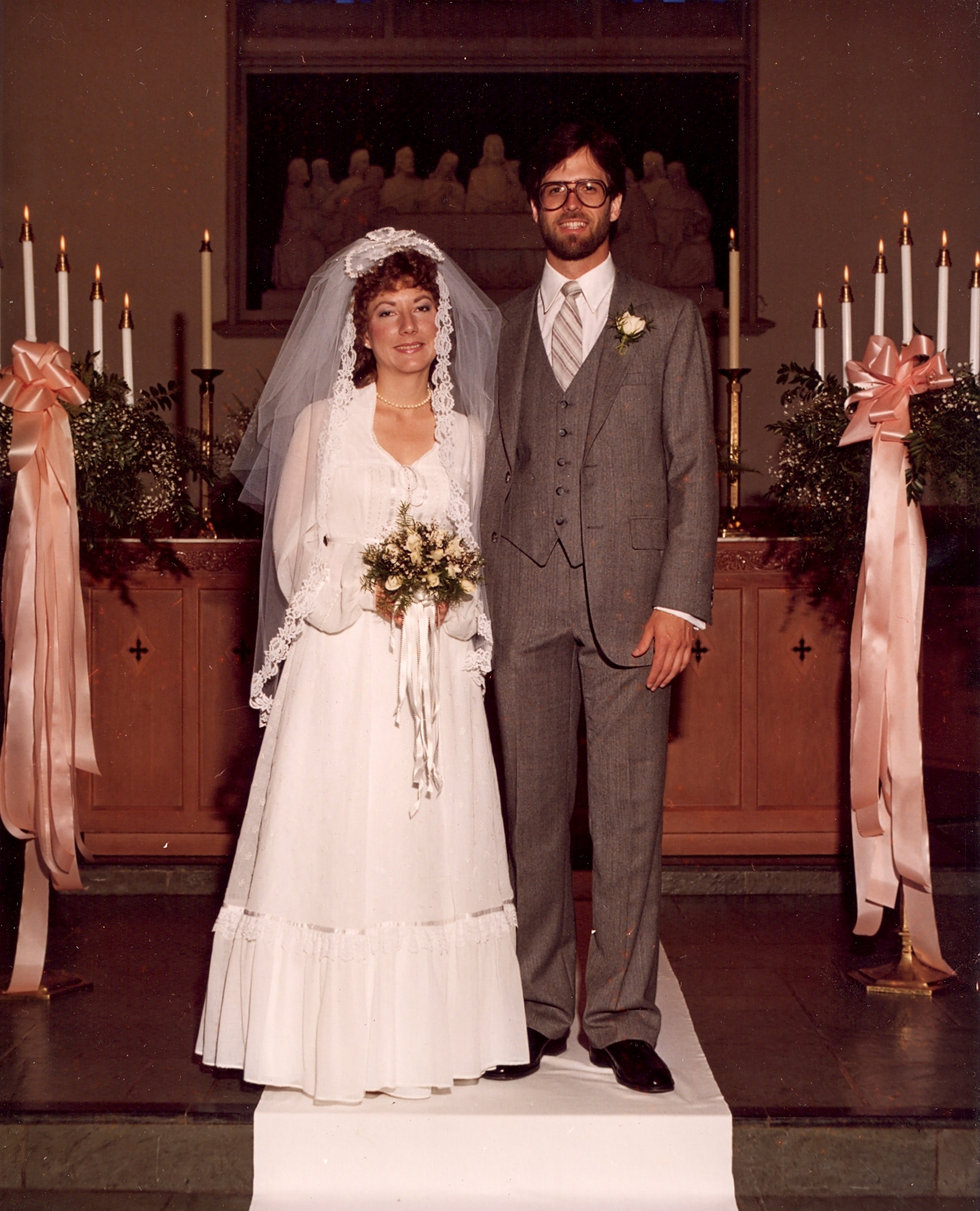 Our parents getting married in 1981 - look how cute they are!