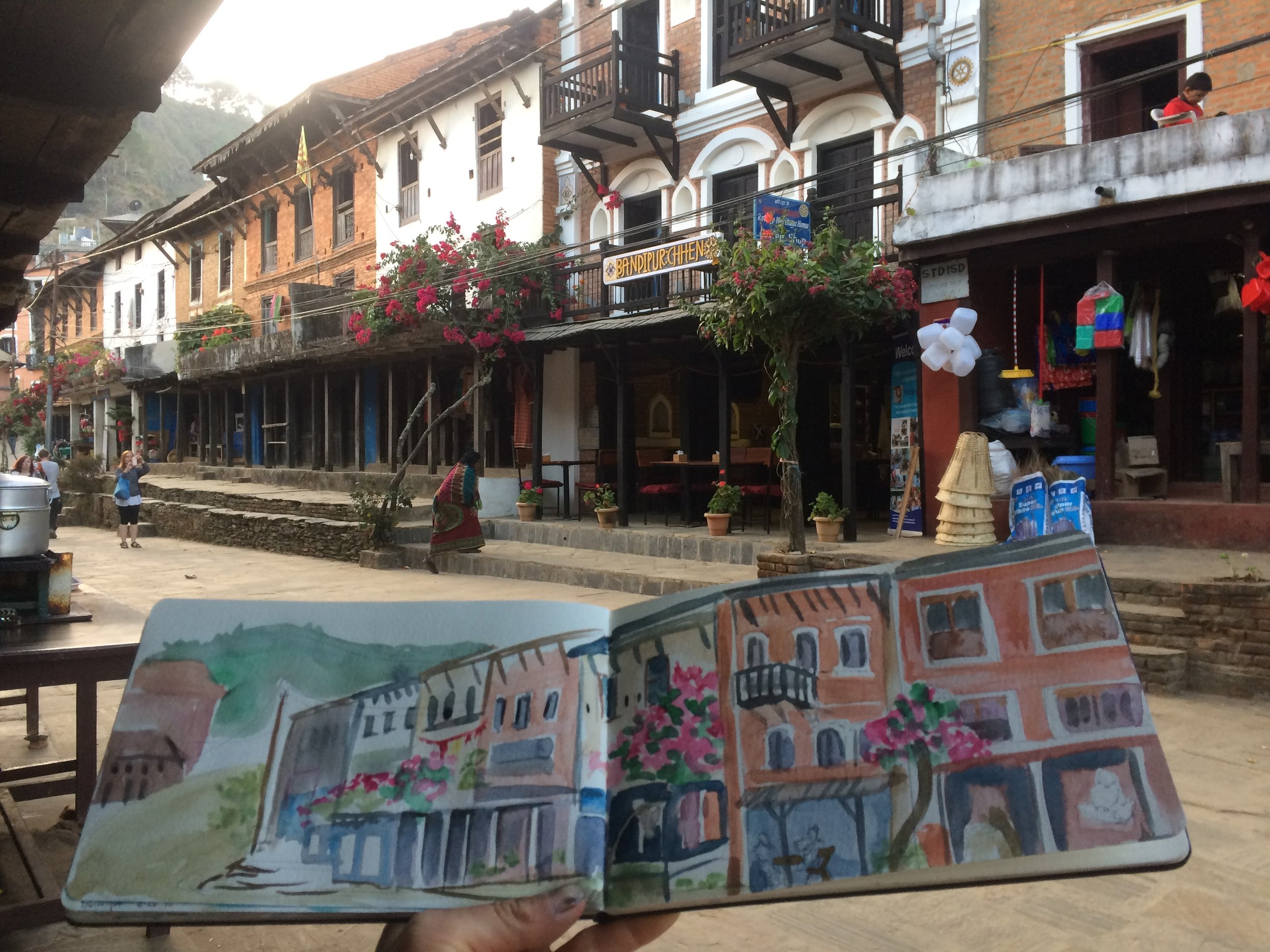 Bandipur, Nepal - A New Orleans vibe in the Himalaya!