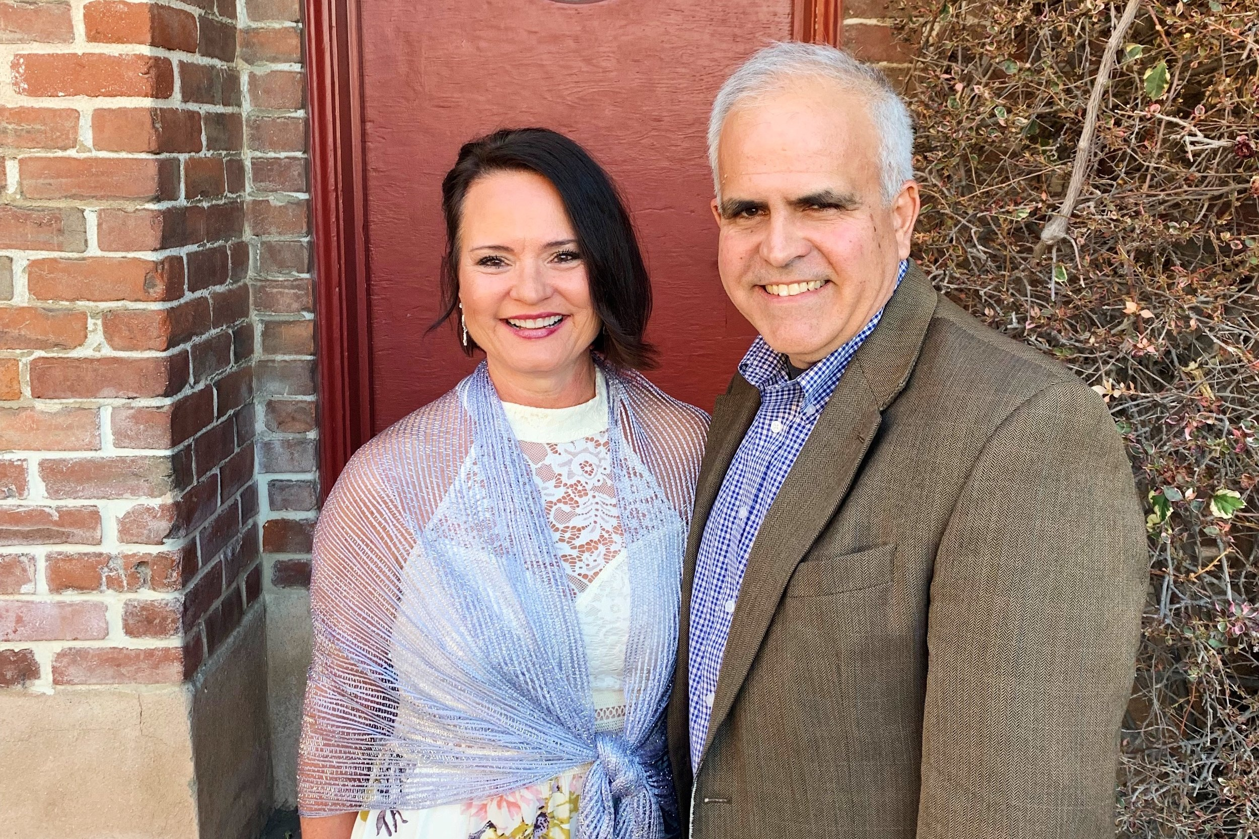Laura and Mike Gouveia at the 2019 Spring Vision Dinner in Redlands, California.