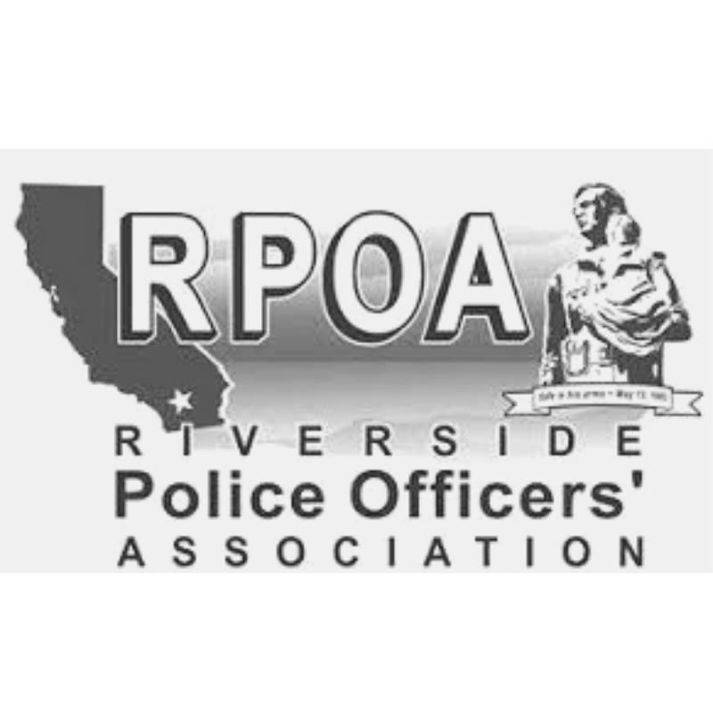 Riverside Police Officers' Association:  Custom etched Hydro Flasks.  rpoa.org